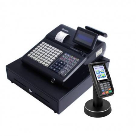 קופה רושמת דגם SPS345 עם אשראי EMV